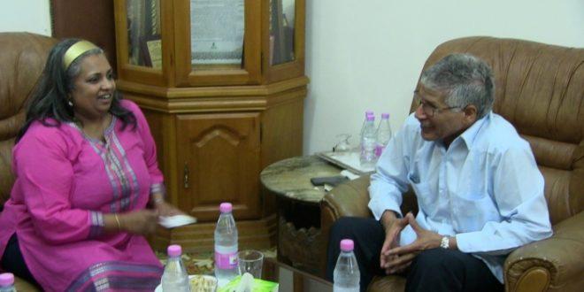 السفير الصحراوي بالجزائر يستعرض مع السيدة رئيسة منظمة حقوق الانسان للتنمية بجنوب افريقيا اوضاع حقوق الانسان في المناطق المحتلة من الصحراء الغربية