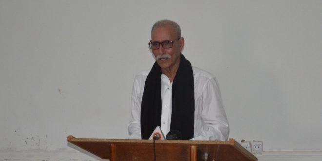 كلمة الأخ إبراهيم غالي الأمين العام للجبهة رئيس الجمهورية في الذكرى 43 للوحدة الوطنية 12 أكتوبر 2018