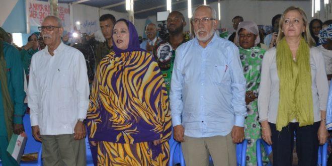 الشعب الصحراوي يحتفل بمئوية الزعيم نيلسون مانديلا