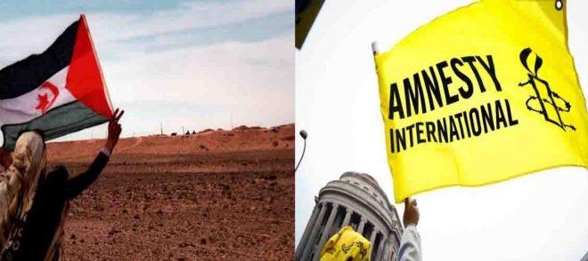 """""""أمنستي"""" تطالب بمراقبة وضعية حقوق الإنسان في الصحراء الغربية"""