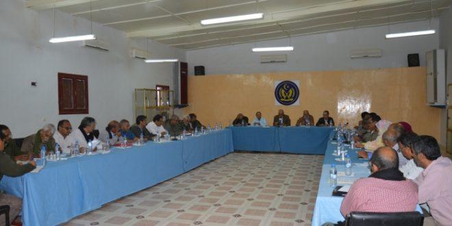 الرئيس ابراهيم غالي يترأس اجتماعا لمجلس الوزراء