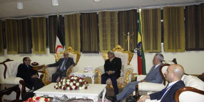 رئيس الجمهورية يصل اديس ابابا، للمشاركة في قمة اصلاح الاتحاد الافريقي.
