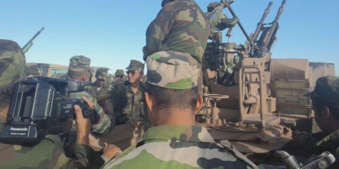 خلال جولته التفتيشية، وزير الدفاع الوطني يتفقد وحدات الناحية العسكرية الأولى