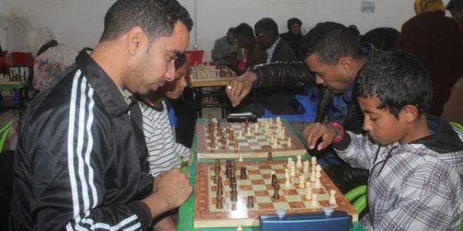 انطلاق البطولة الوطنية المفتوحة الأولى للشطرنج