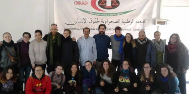 اللجنة الوطنية لحقوق الإنسان تستقبل وفدا عن شبيبة قرطبة الإسبانية