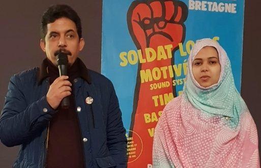 وفد صحراوي ينشط محاضرة حول كفاح الشعب الصحراوي ضمن فعاليات عيد الإنسانية بمنطقة لابروطان الفرنسية