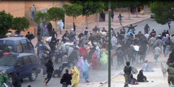 وزارة الارض المحتلة والجاليات تدين سياسة الترهيب والقمع التي تنتهجها دولة الاحتلال المغربي في حق الصحراويين العزل