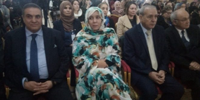 رئيسة دار النشر لارمتان راصد تستعرض دور المرأة الصحراوية في العملية النضالية