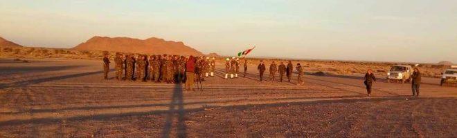 القائد الأعلى للقوات المسلحة يجري تفتيشا على الوحدات المشاركة في المناورة العسكرية