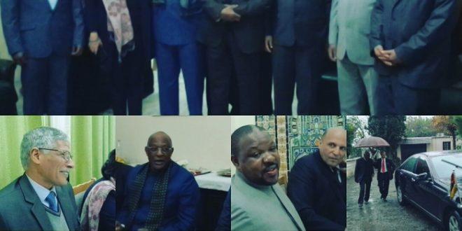 سفير الجمهورية الصحراوية بالجزائر يقيم حفل توديع لنظيره الجنوب إفريقي والمعتمد لدى الدولة الصحراوية