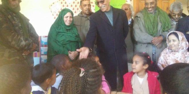رئيس الجمهورية يقف على سير البرامج بعدة قطاعات بولاية بوجدور