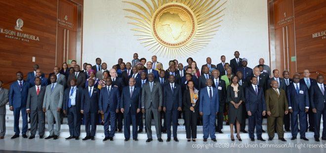 اختتام اشغال الدورة العادية الرابعة و الثلاثون لمجلس وزراء خارجية دول الاتحاد الافريقي، والوفد الصحراوي يذكر بالوضع الخاص للاجئين الصحراويين.