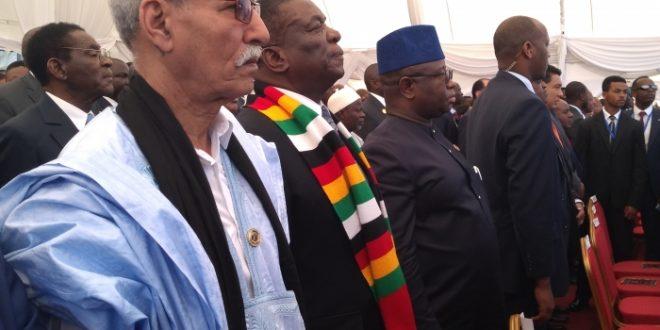 الجمهورية الصحراوية تعرض مقاربتها حول موضوع السنة لقمة الاتحاد الإفريقي .