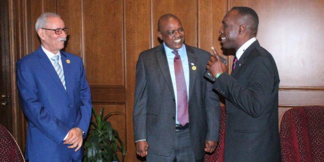 رئيس الجمهورية يتباحث مع عدد من رؤساء الدول و الحكومات الافريقية، و تطورات القضية الوطنية في صلب المحادثات.