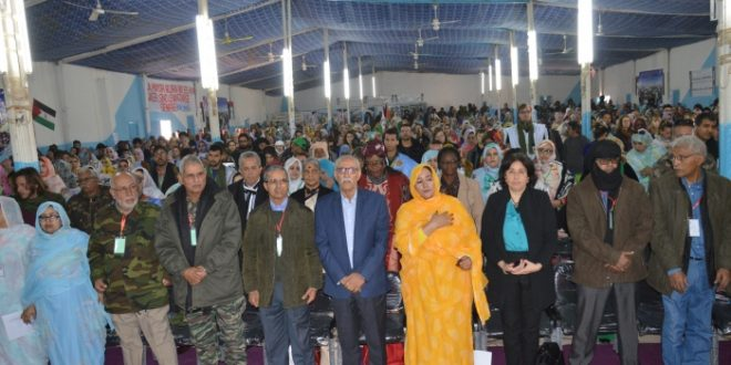 المؤتمر الثامن لاتحاد النساء الصحراويات يفتتح أشغاله بولاية أوسرد