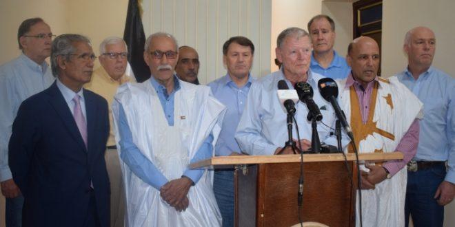 رئيس لجنة الدفاع بمجلس الشيوخ الأمريكي يؤكد التزامه بحرية الشعب الصحراوي