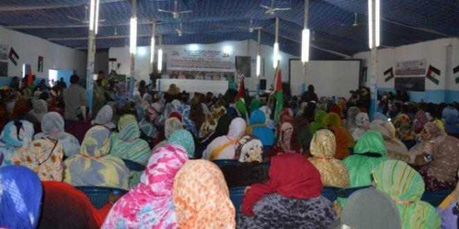 تواصل اشغال المؤتمر الثامن لاتحاد النساء الصحراويات لليوم الثاني بولاية اوسرد