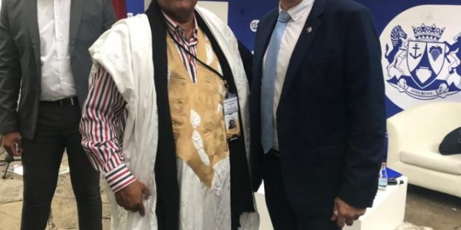 """""""العلاقات الثنائية بين جنوب افريقيا والدولة الصحراوية """" محور محادثات بين السفير الصحراوي بجنوب افريقيا و رئيس برلمان ويسترن كيب"""