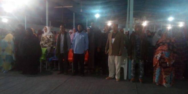 جماهير وسلطات ولاية الداخلة تدعو المجتمع الدولي إلى تحمل مسؤولياته تجاه الشعب الصحراوي