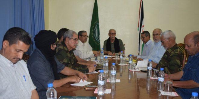 رئيس الجمهورية يترأس اجتماعا للمكتب الدائم للامانة الوطنية