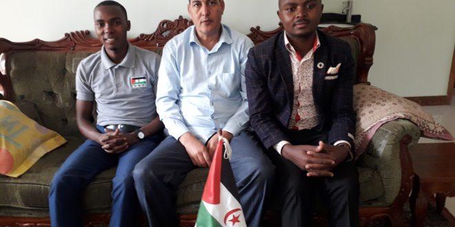 السفارة الصحراوية في كمبالا تنظم لقاءا تواصليا مع منظمة الطلبة الأوغندية