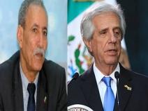 رئيس الجمهورية يهنئ نظيره رئيس جمهورية أوروغواي بمناسبة يوم إعلان الاستقلال