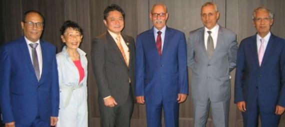 رئيس الجمهورية الصحراوية يأسف لتورط اليابان مع المغرب في نهب الثروة السمكية الصحراوية