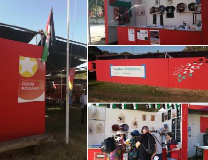 """وفد صحراوي يشارك في المهرجان السنوي """"أبانتي"""" الذي يقيمه الحزب الشيوعي البرتغالي"""