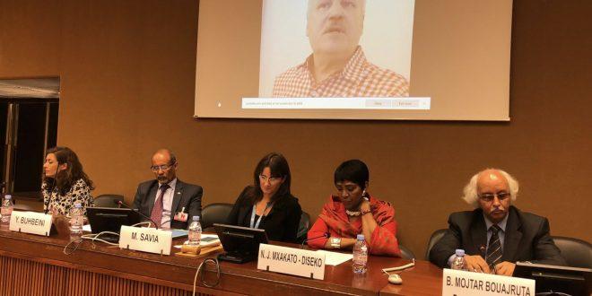 حقوق الإنسان في سياق المساعدات الإنسانية : محور ندوة حول الصحراء الغربية بمقر حقوق الإنسان الأممي