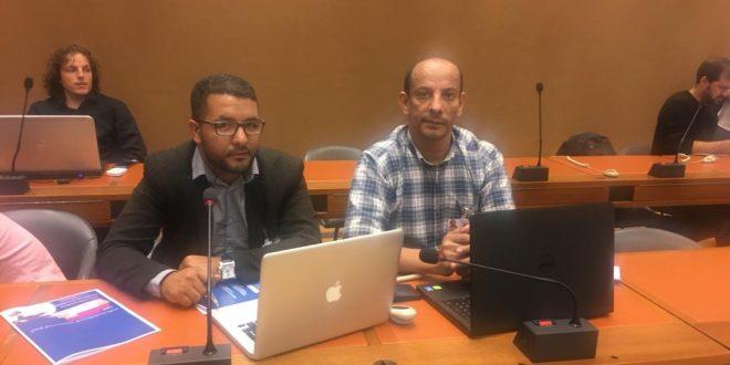وفد عن المجتمع المدني الصحراوي يشارك في الدورة الخامسة لمجموعة العمل حول إتفاق ملزم للشركات المتعددة الجنسيات بجنيف