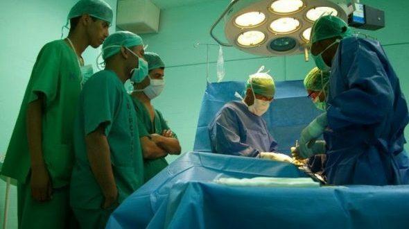 بعثة طبية تجري فحوصات لسكان الأراضي المحررة