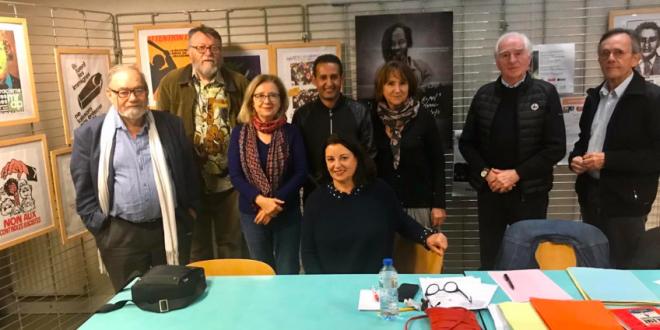 مسؤول العلاقات الخارجية في إتحاد الشبيبة يجري لقاء موسعا مع أرضية التضامن الفرنسية مع الشعب الصحراوي