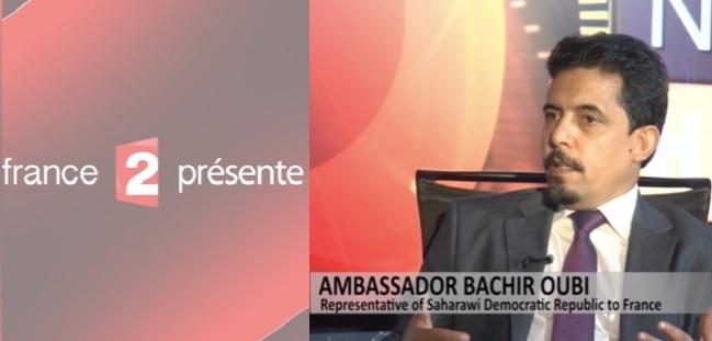 """ممثل جبهة البوليساريو في فرنسا يستوقف قناة """"فرانس2"""" الحكومية بشأن فيلم وثائقي دعائي للإحتلال المغربي للصحراء الغربية"""