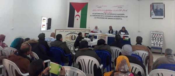 تخليدا لليوم العالمي لحقوق الإنسان: المجتمع المدني الصحراوي يؤكد مسؤولية المنتظم الدولي عن تردي الوضع في الصحراء الغربية المحتلة