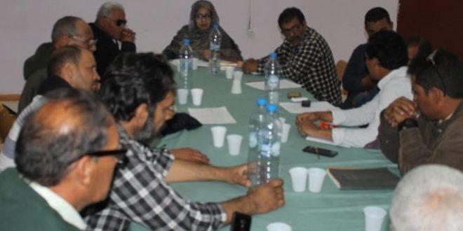 وزيرة الصحة العمومية تشرف على اجتماع لمجلس تسيير المؤسسة