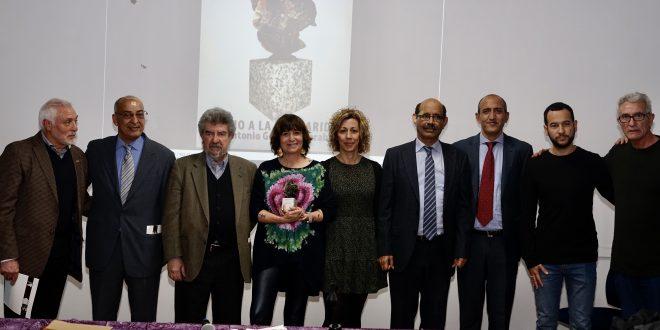 """الصحفية والكاتبة الإسبانية """"روسا مونتيرو"""" تحصل جائرة خوان انطونيو كارابايو للتصامن"""