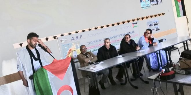 الجالية الصحراوية بفرنسا تحيي الذكرى الـ44 لإعلان الجمهورية الصحراوية