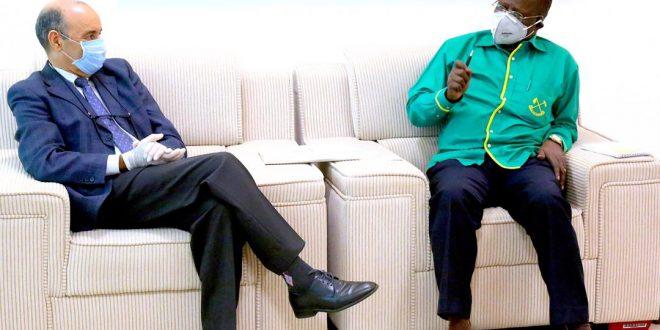 """السفير الصحراوي لدى جمهورية تنزانيا المتحدة يستقبل بمقر حزب """"تشاما تشا مابندوزي"""""""