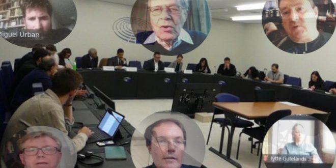 مجموعة السلام للشعب الصحراوي بالبرلمان الأوروبي تعقد إجتماعا إستثنائيا لتدارس خارطة العمل على مستوى المؤسسات الأوروبية