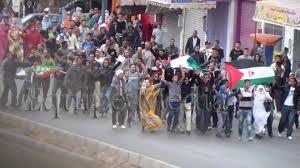 الرئيس إبراهيم غالي يحيي أبطال انتفاضة الاستقلال الذين يواجهون الاحتلال بصدور عارية
