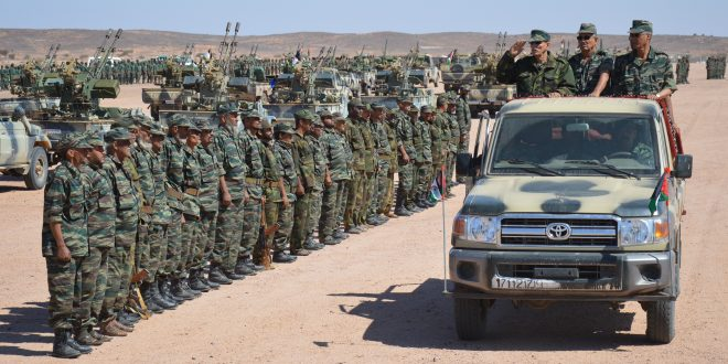 الرئيس إبراهيم غالي يشيد بالدور المحوري لوحدات جيش التحرير الشعبي الصحراوي