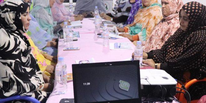 الاتحاد الوطني للمرأة الصحراوية يشيد بنضالات نساء الارض المحتلة