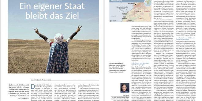 مجلة فليت بليكي الألمانية تسلط الضوء على نزاع الصحراء الغربية ومعاناة اللاجئين الصحراويين