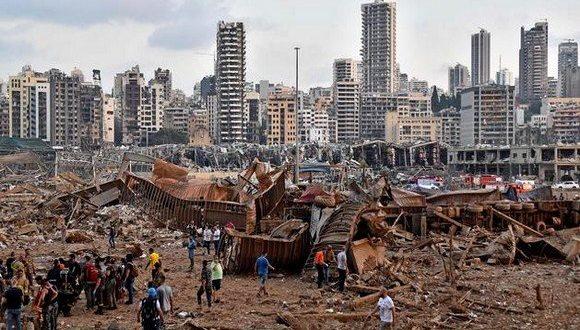 لبنان: ارتفاع حصيلة انفجار مرفأ بيروت إلى 171 قتيل