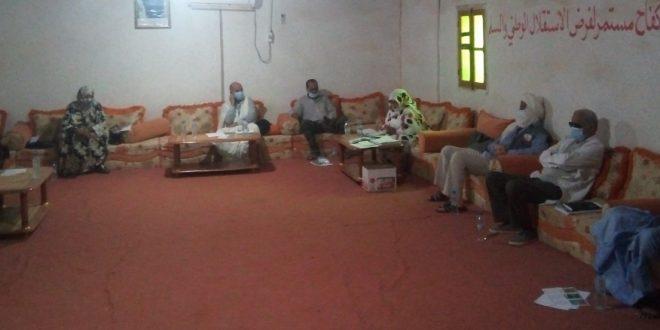 وزارة الصحة العمومية تشرف على المحطة الثالثة للاسبوع الصحي التحسيسي بوباء كورونا بولاية السمارة