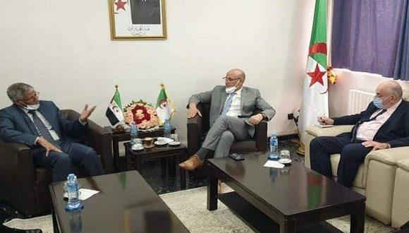 الجزائر : الأمين العام للتجمع الوطني الديمقراطي يجدد الدعم للشعب الصحراوي وقضيته العادلة