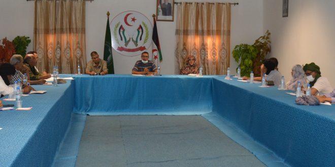 مسؤول أمانة التنظيم السياسي يشرف على اجتماع للآلية الوطنية المعنية بالخطاب