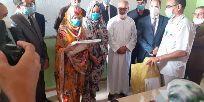 وزير التربية والتعليم يحضر مراسم انطلاق شهادة البكالوريا بولاية تندوف