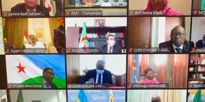 الجمهورية الصحراوية تشارك في أشغال الدورة الـ 37 للمجلس التنفيذي للاتحاد الافريقي