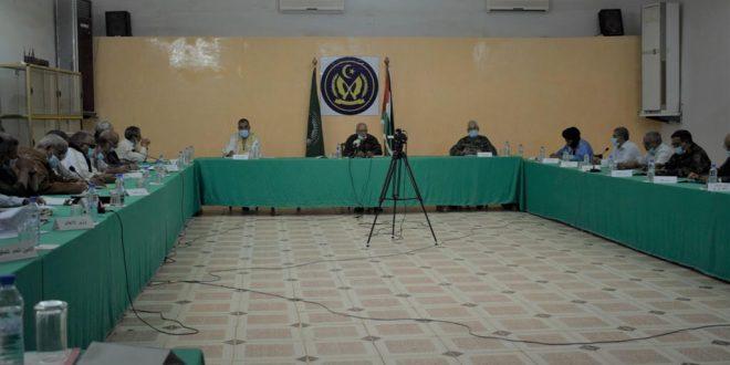 الرئيس ابراهيم غالي يترأس إجتماعا لمجلس الوزراء